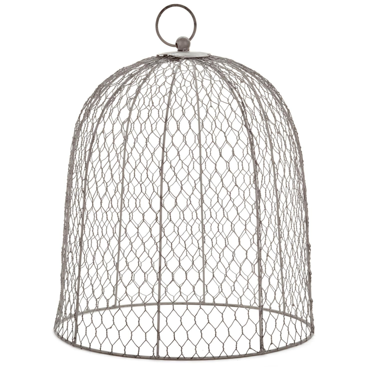 Chicken wire cloche decorative accessories hallmark