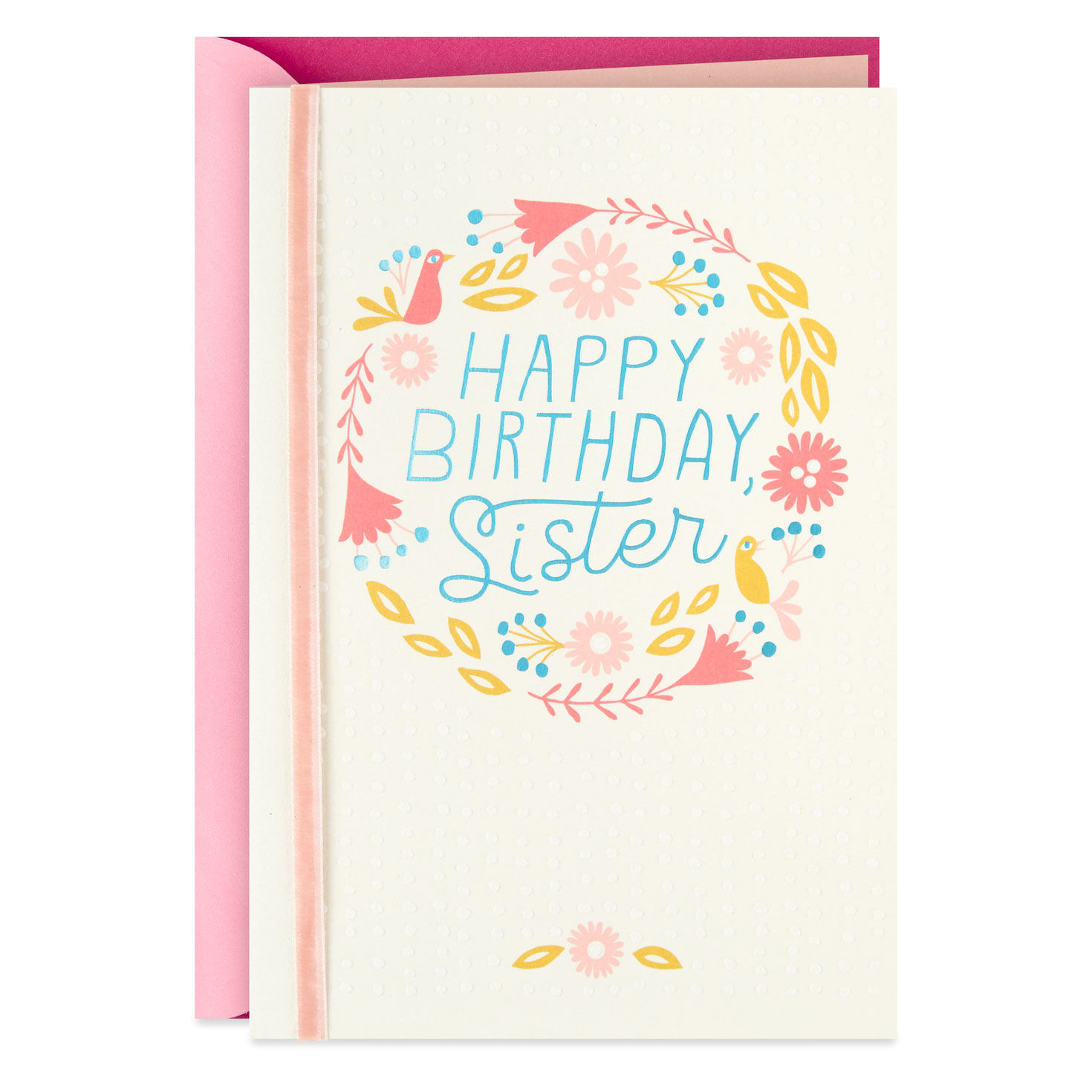 Wishing You Happiness Birthday Card For Sister Greeting Cards Hallmark