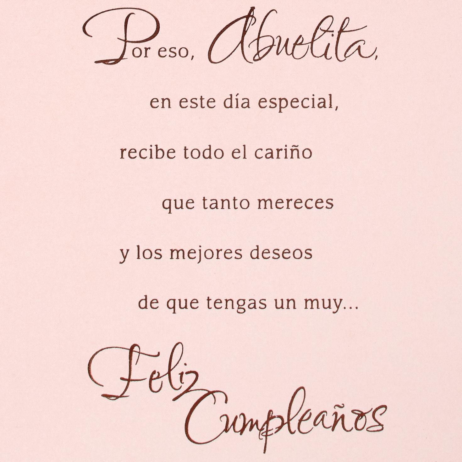 Legacy Of Your Love Spanish Language Birthday Card For Grandmother Greeting Cards Hallmark