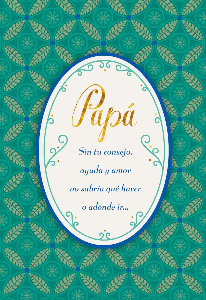 Always Love You Spanish Language Birthday Card For Dad Greeting