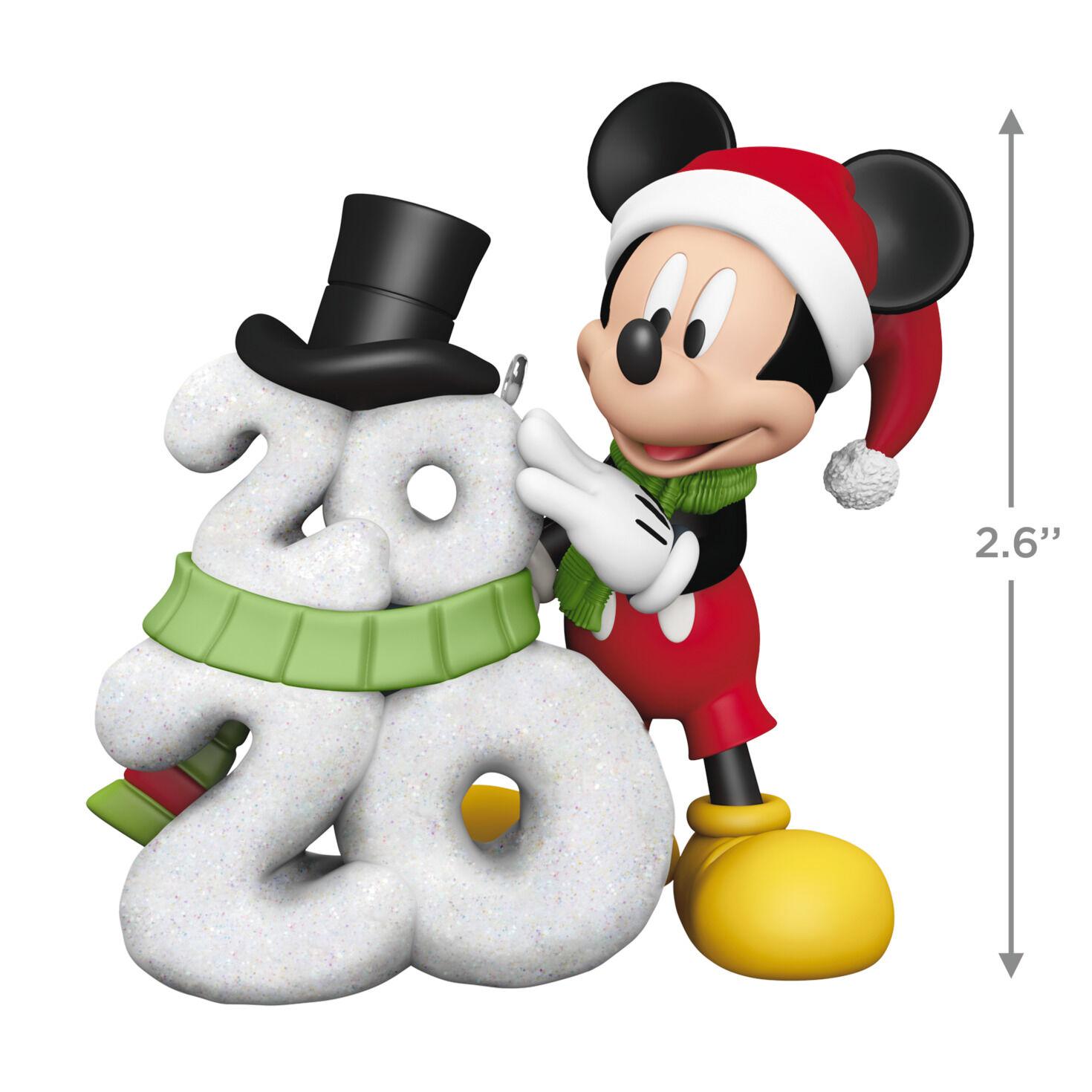Disney Mickey Mouse A Year Of Disney Magic 2020 Ornament Keepsake Ornaments Hallmark
