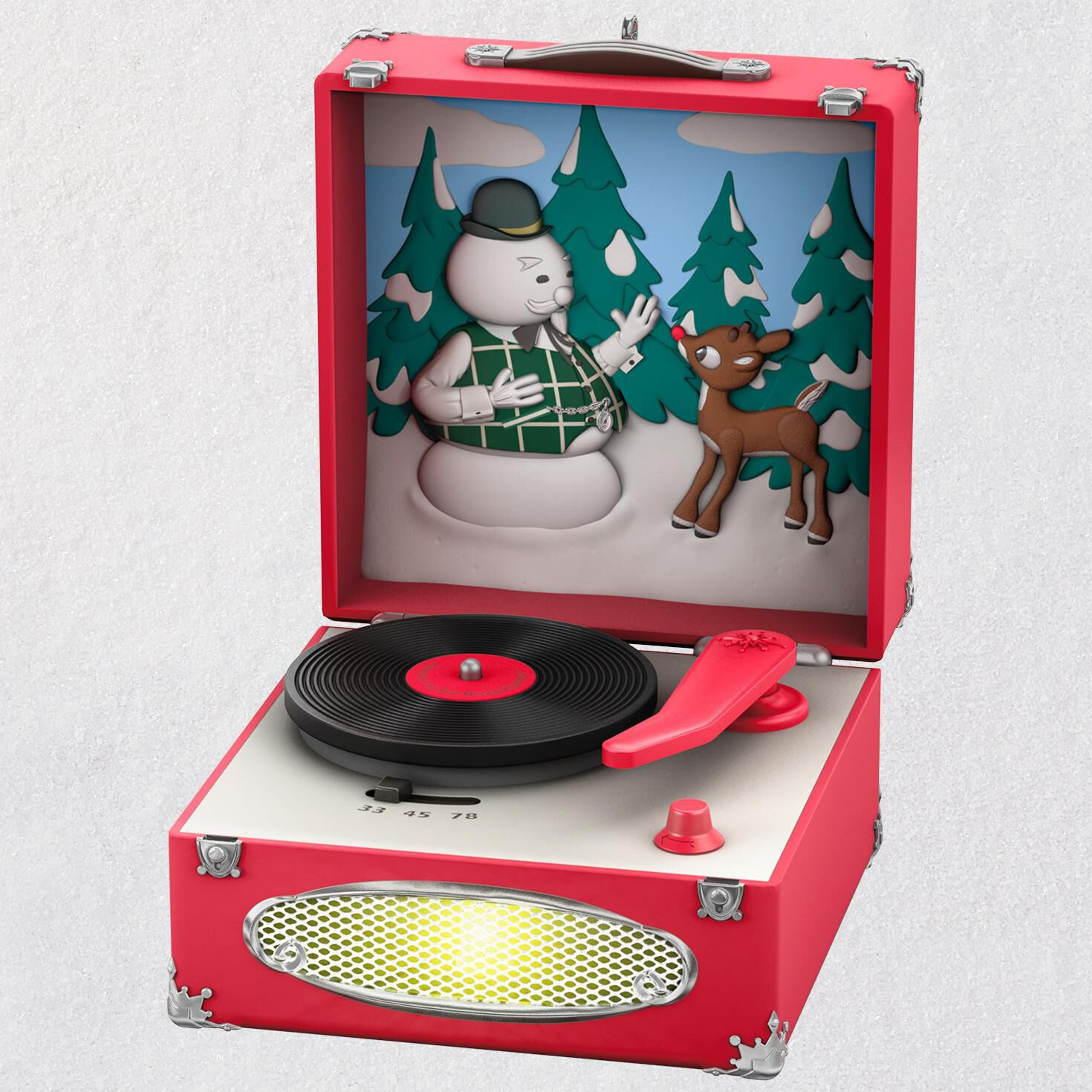 Rudolph The Red Nosed Reindeer Record Player Musical