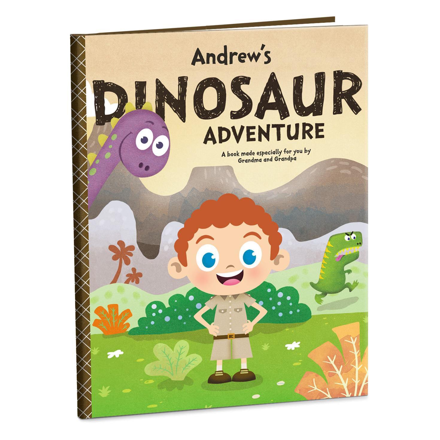Dinosaur Adventure Personalized Book Personalized Books
