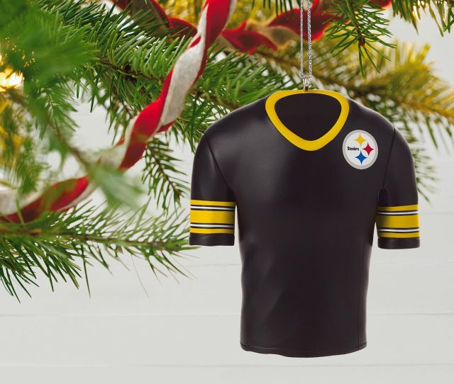 Pittsburgh Steelers Jersey Ornament Pittsburgh Steelers Jersey Ornament