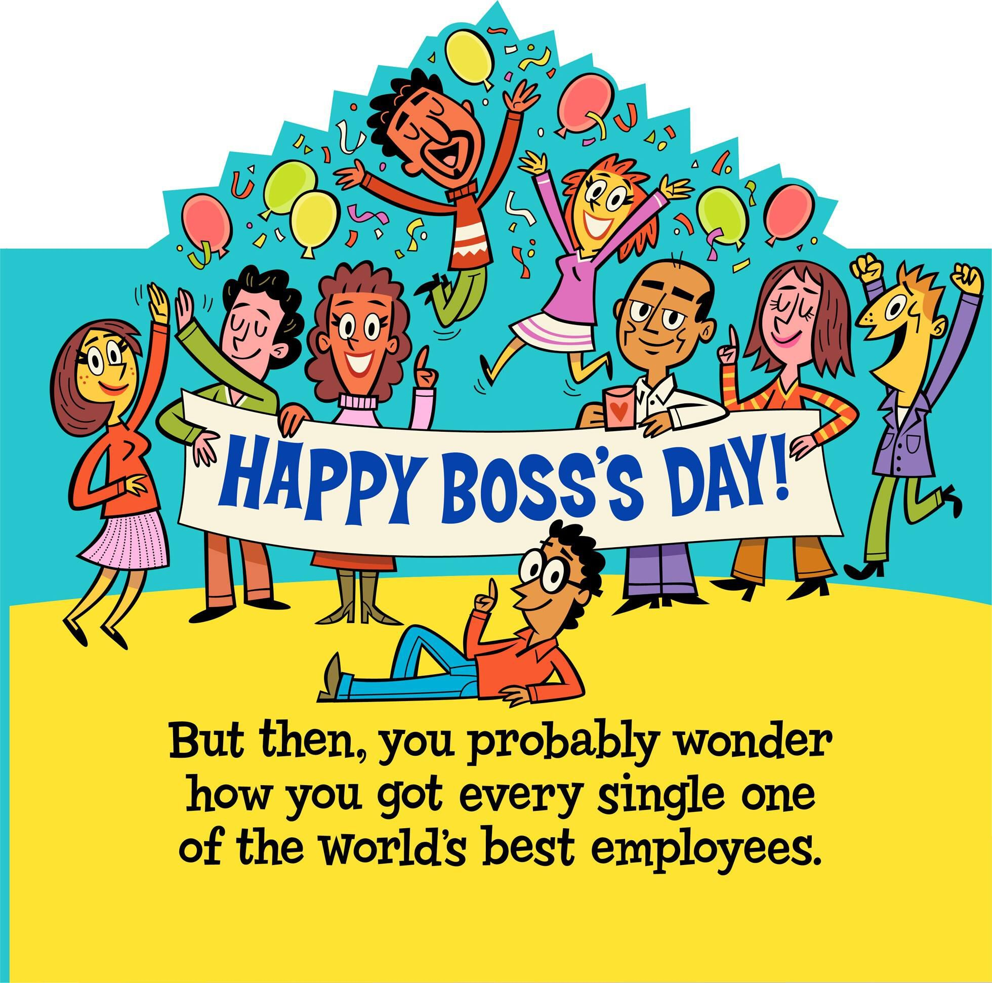Bosses Day Cards To Print