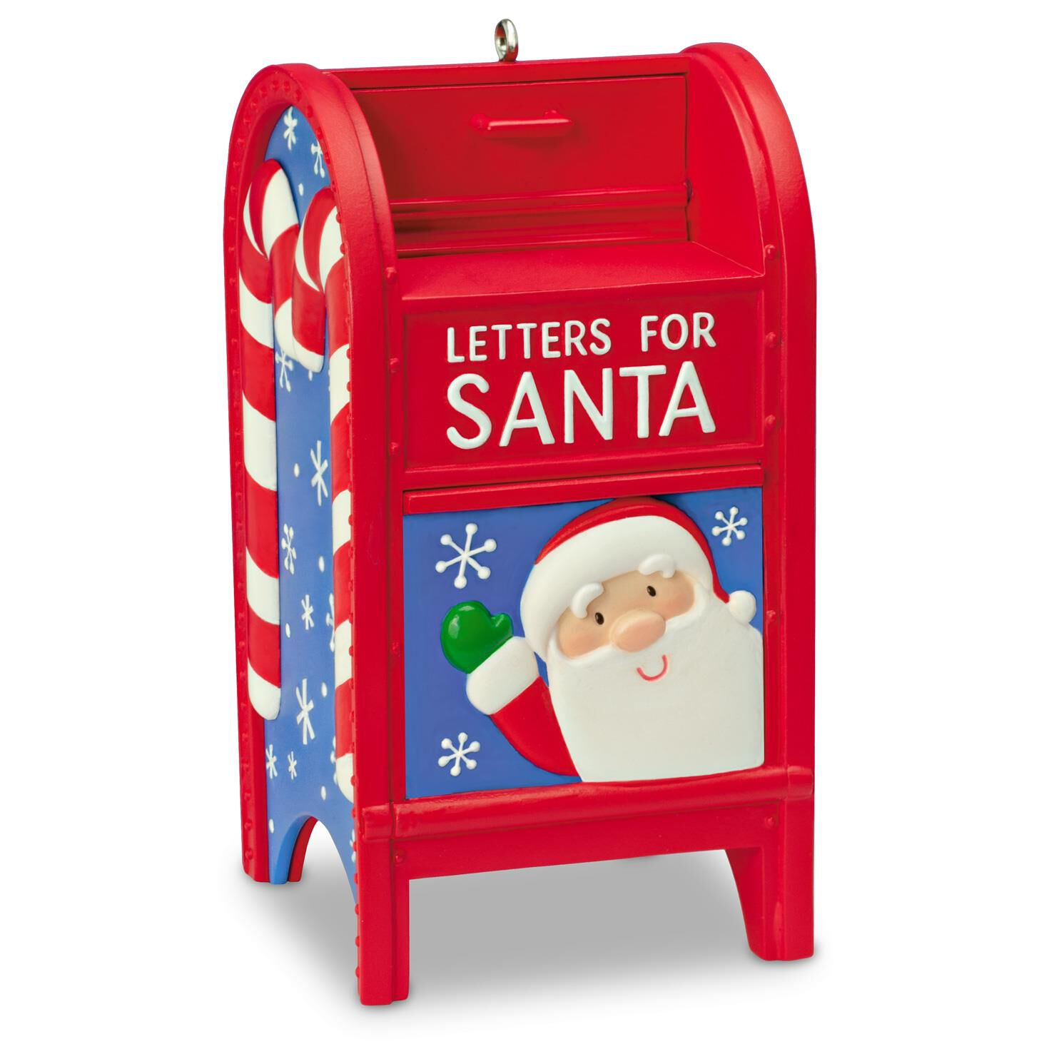 Letters For Santa Mailbox Ornament Keepsake Ornaments