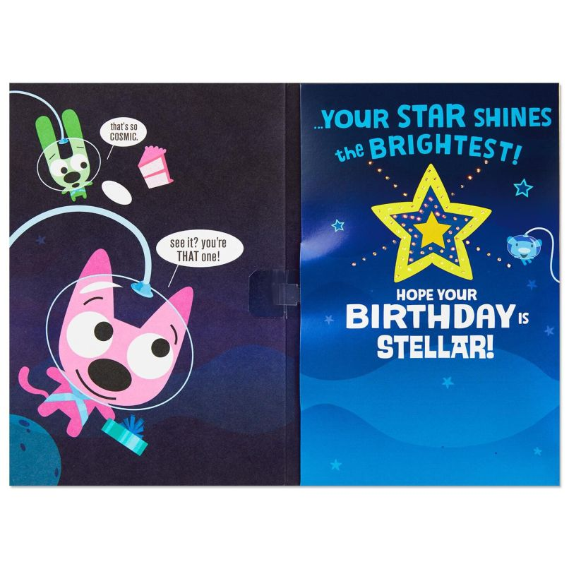Hoops Yoyo E Travelers Birthday Card With Lights And Sound