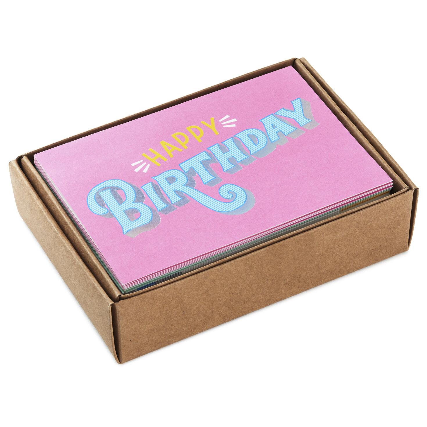 Boxed Birthday Cards Hallmark