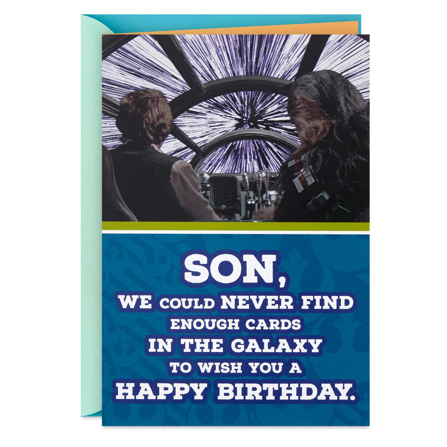 Star Wars Han Solo And Chewbacca Birthday Card For Son With Mini Cards Greeting Cards Hallmark