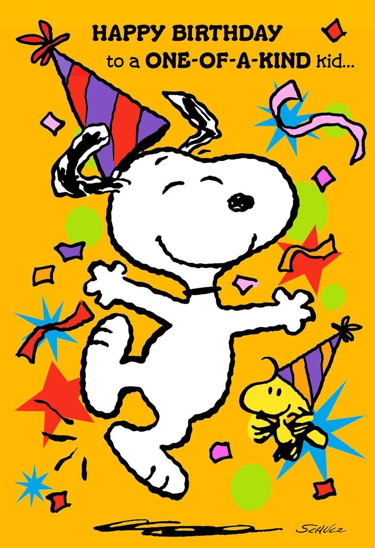 Peanuts Snoopy And Woodstock Best Kind Of Kid Birthday