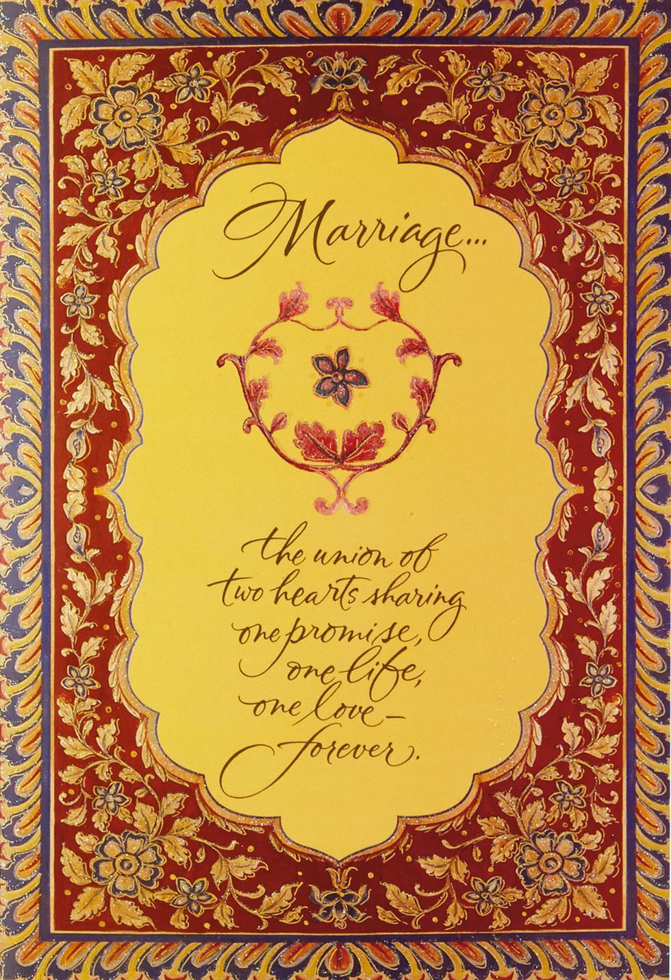 A Beautiful Forever Wedding Card Greeting Cards Hallmark