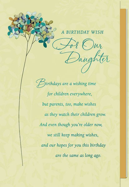 What We Want For Our Daughter Greeting Cards Hallmark