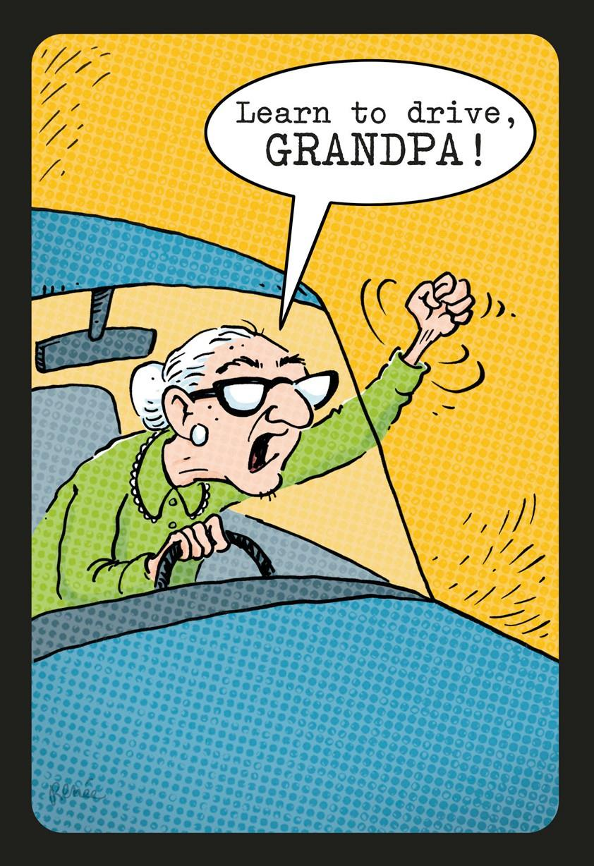 Granny Driver Funny Birthday Card Greeting Cards Hallmark