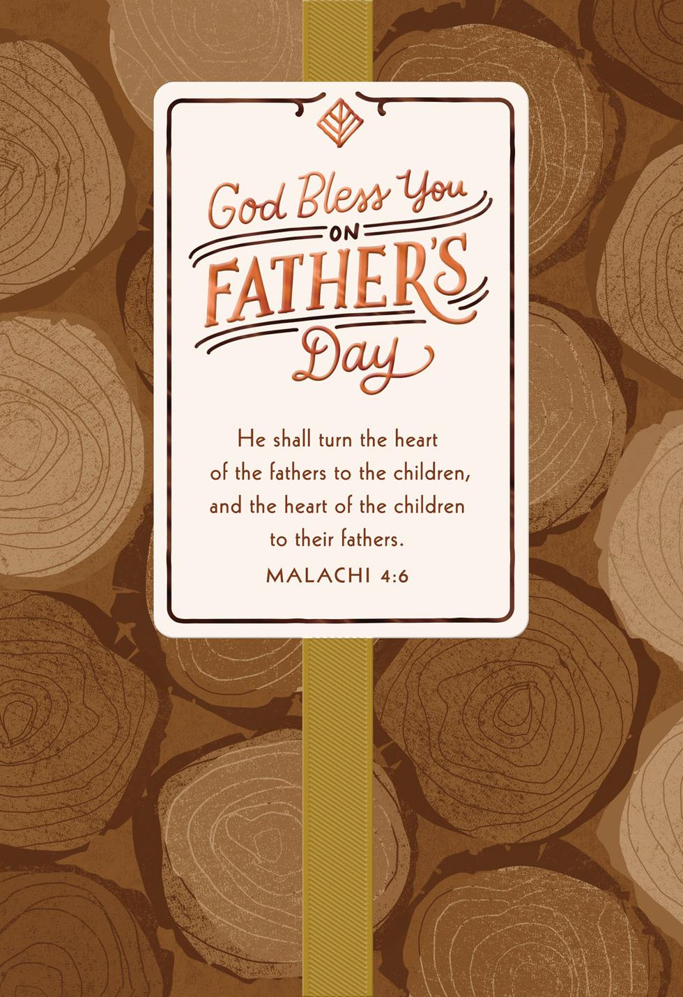 May God Bless You Religious Fathers Day Card Greeting Cards Hallmark