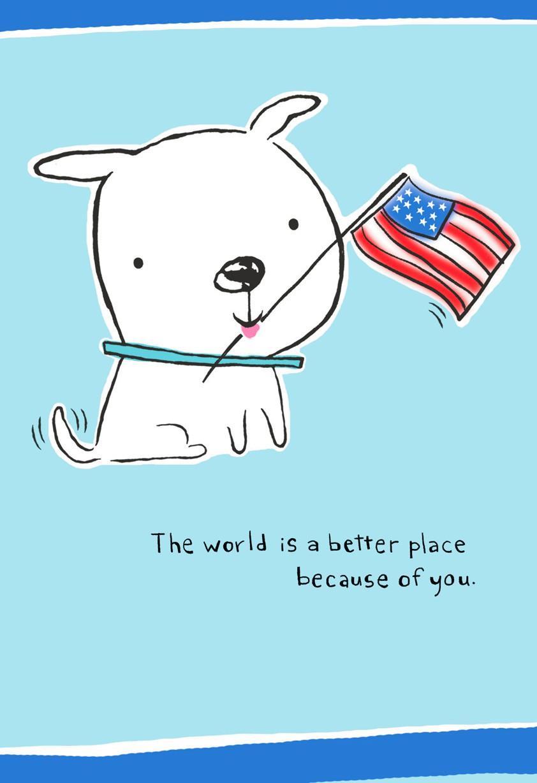 Patriotic Pup Veterans Day Card Greeting Cards Hallmark