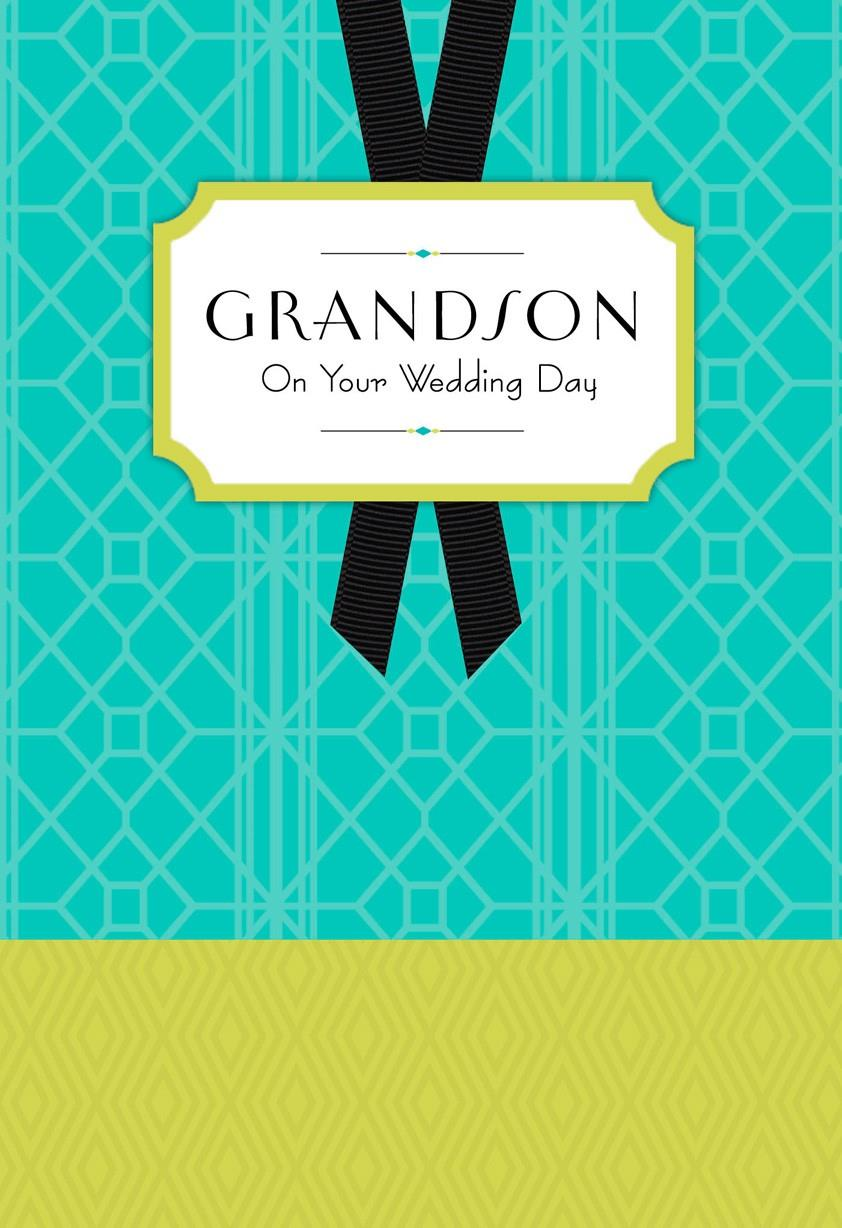Art Deco Grandson Wedding Card Greeting Cards Hallmark