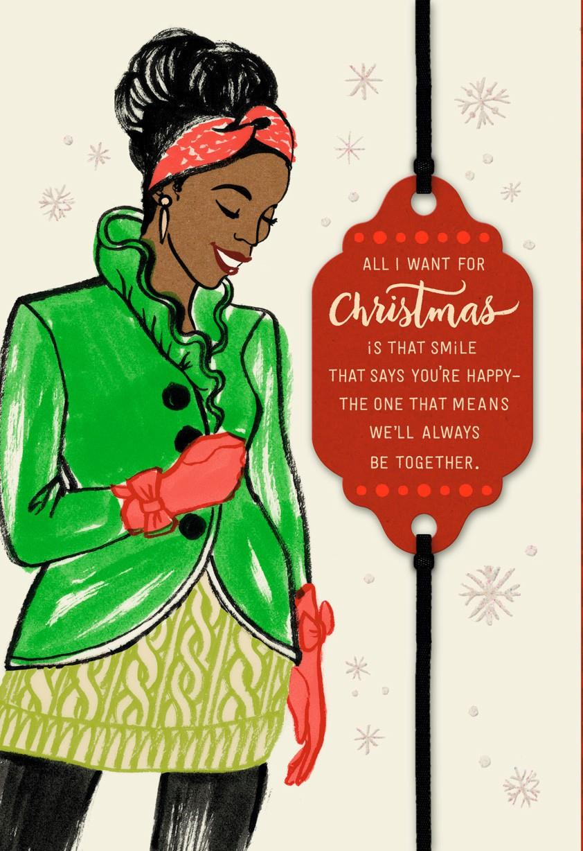All I Want Is You Christmas Card Greeting Cards Hallmark