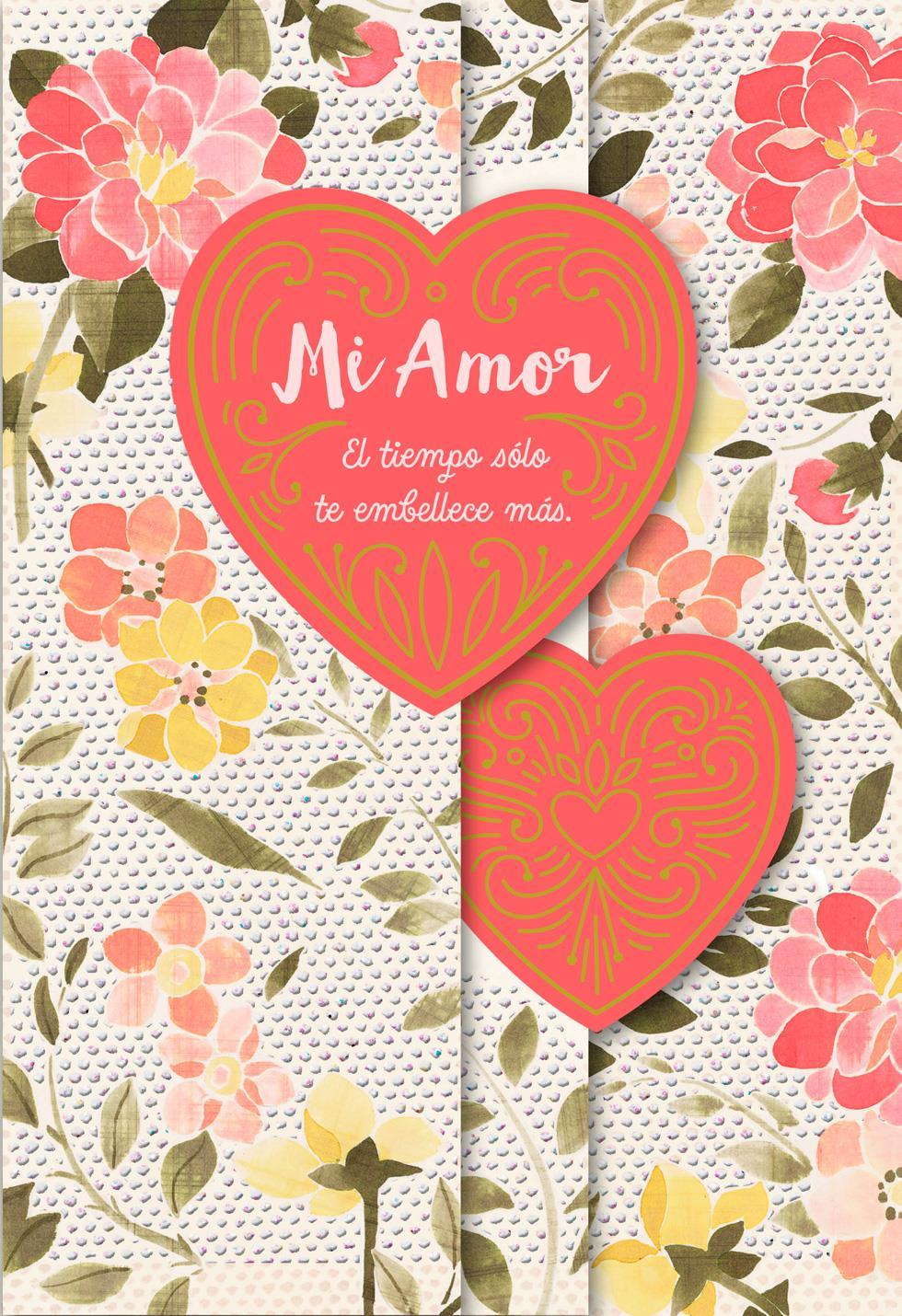 Time Makes You More Beautiful Spanish Language Wife Birthday Card Greeting Cards Hallmark