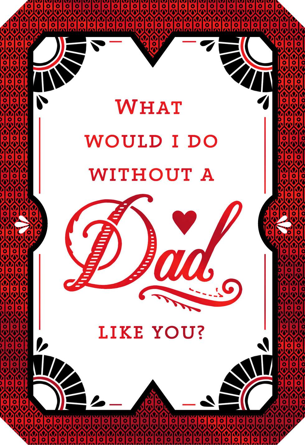 A Dad Like You Valentines Day Card Greeting Cards