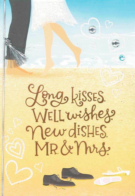 Long Kiss Well Wishes Wedding Card Greeting Cards Hallmark