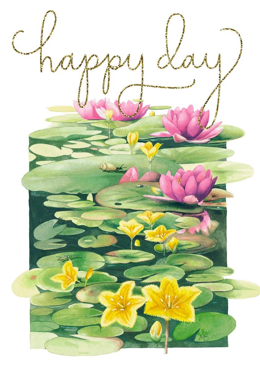 Happy Day Marjolein Bastin Card Greeting Cards Hallmark