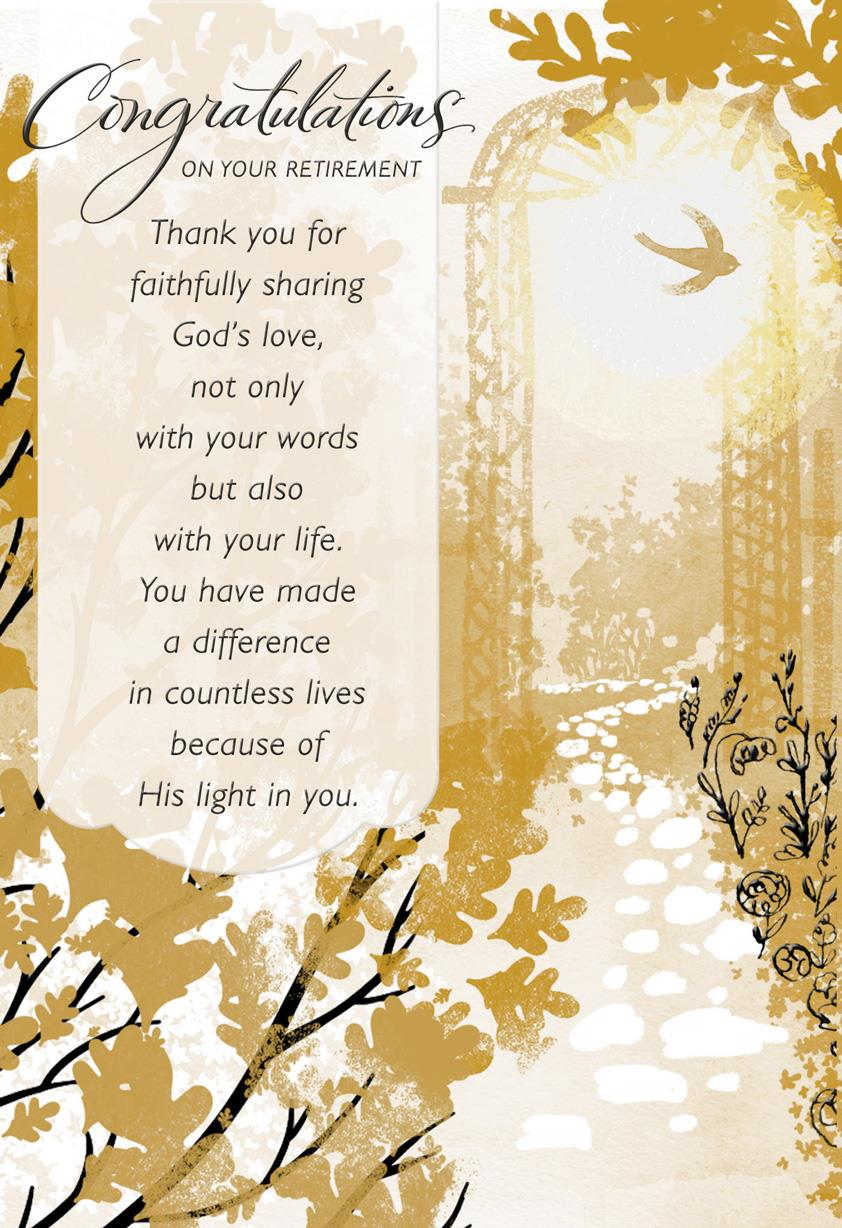 Made A Difference Religious Retirement Card For Pastor Greeting Cards Hallmark