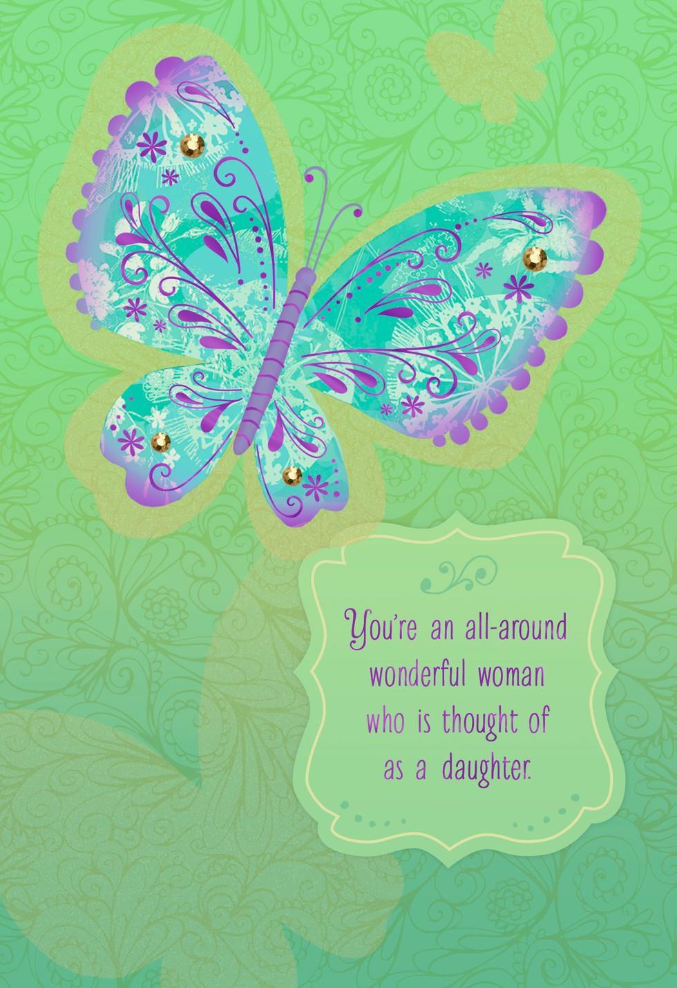 Like A Daughter Birthday Card Greeting Cards Hallmark