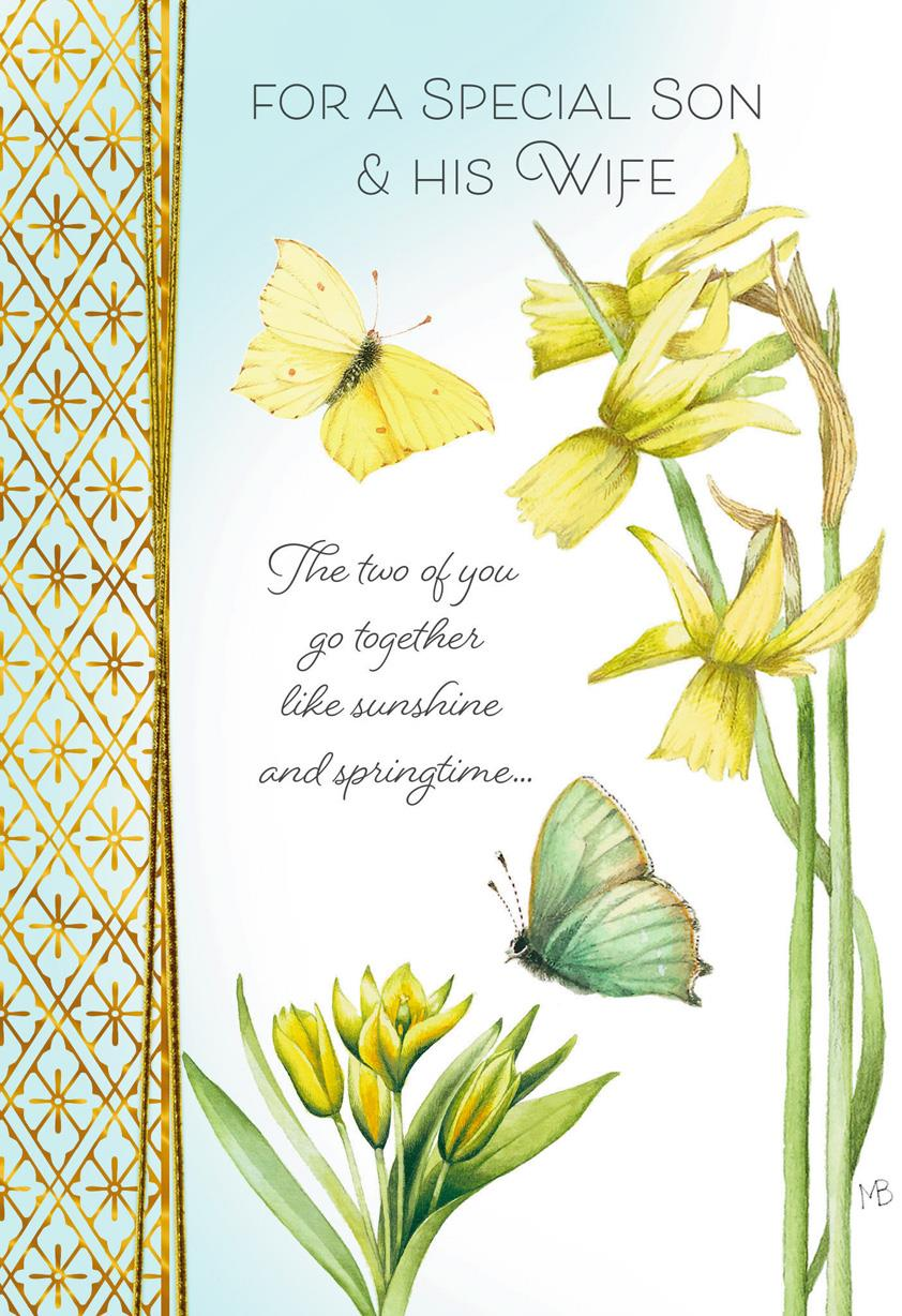 Marjolein Bastin Warm Hearts Easter Card For Son And