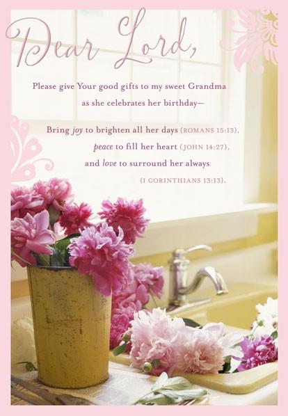 Prayer For Grandma Birthday Card Greeting Cards Hallmark