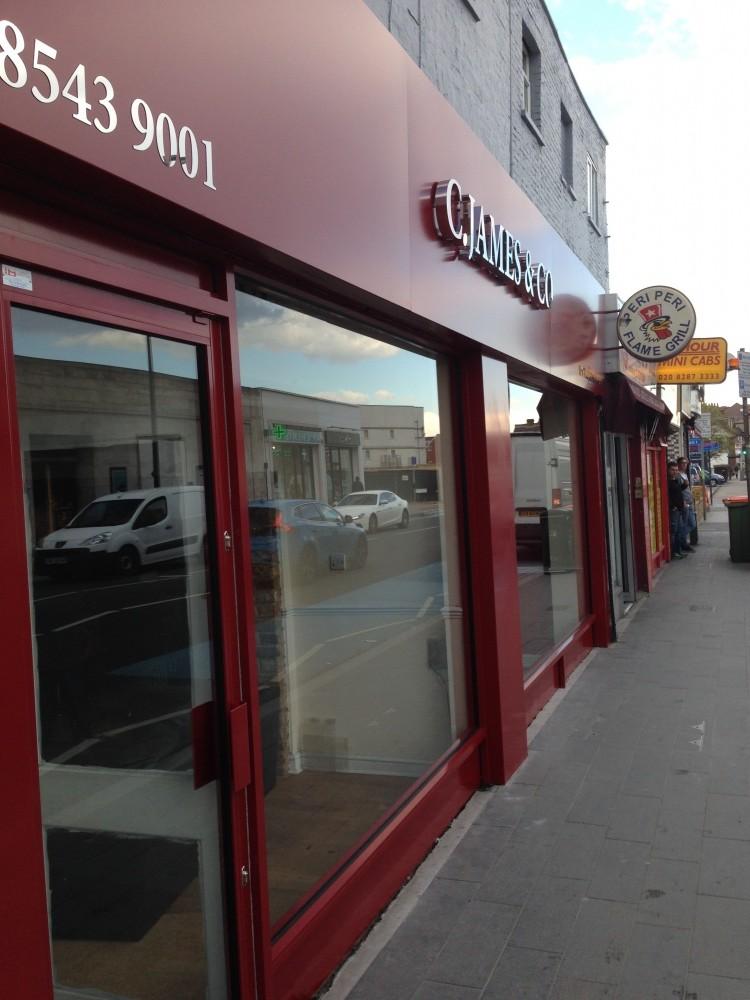 Shopfronts Hallmark Glass And Glazing