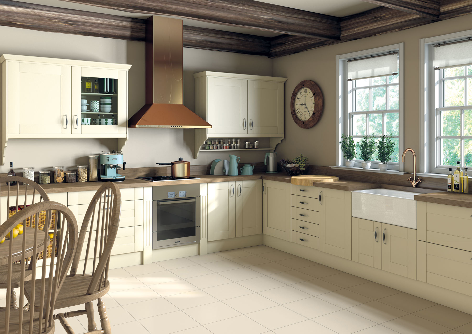 Small Country Style Kitchens