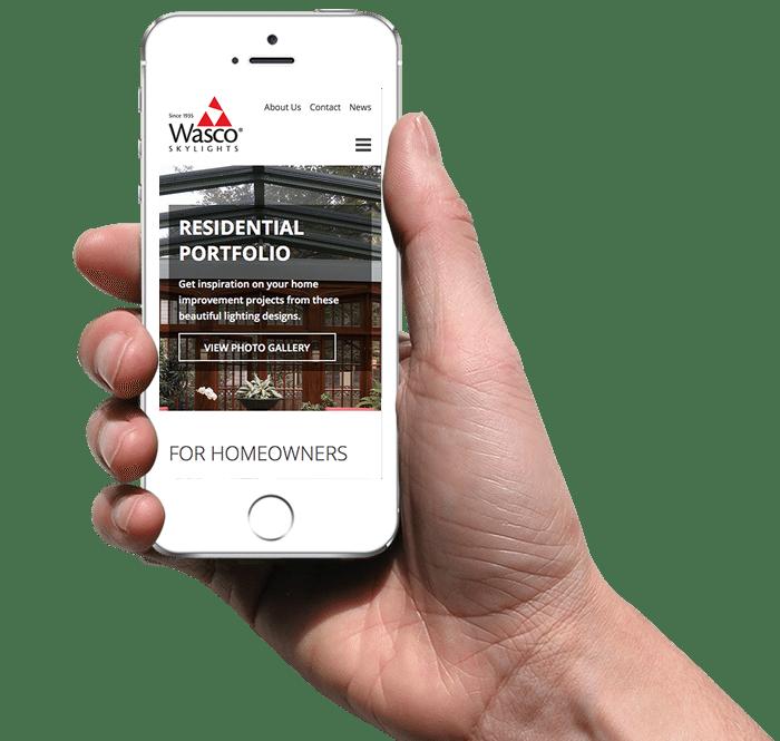 Wasco Residential Portfolio on Mobile