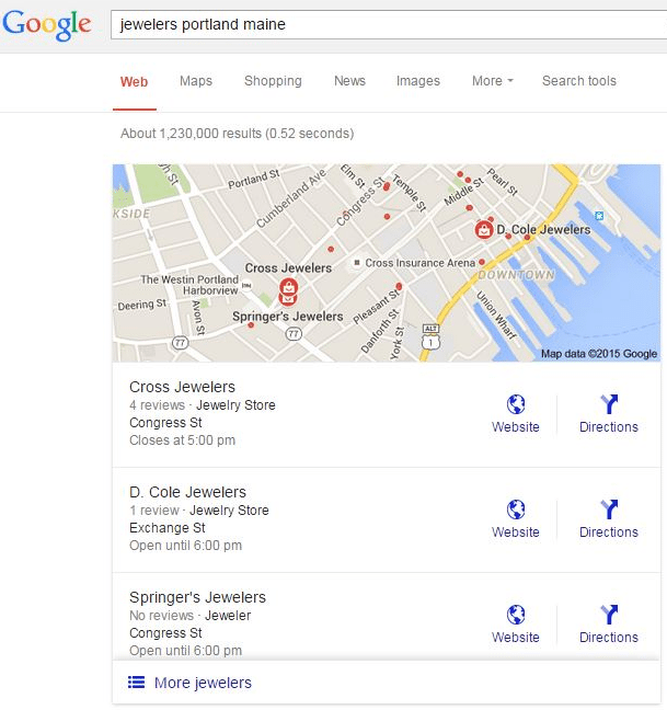 google rolls out new local 3 pack
