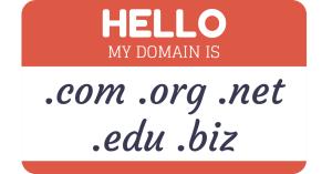Domain Name Nametag