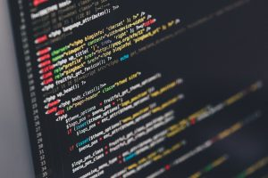 Colorful Website Code