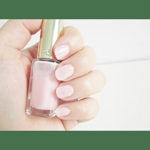 L Oreal Color Riche Rose Mademoiselle 201 Nail Polish 5ml