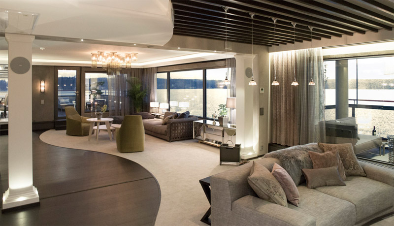 Spacious Apartment With Modern Luxury Hall Of Homes