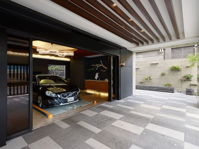 taipei home yu ya ching interior design garage design