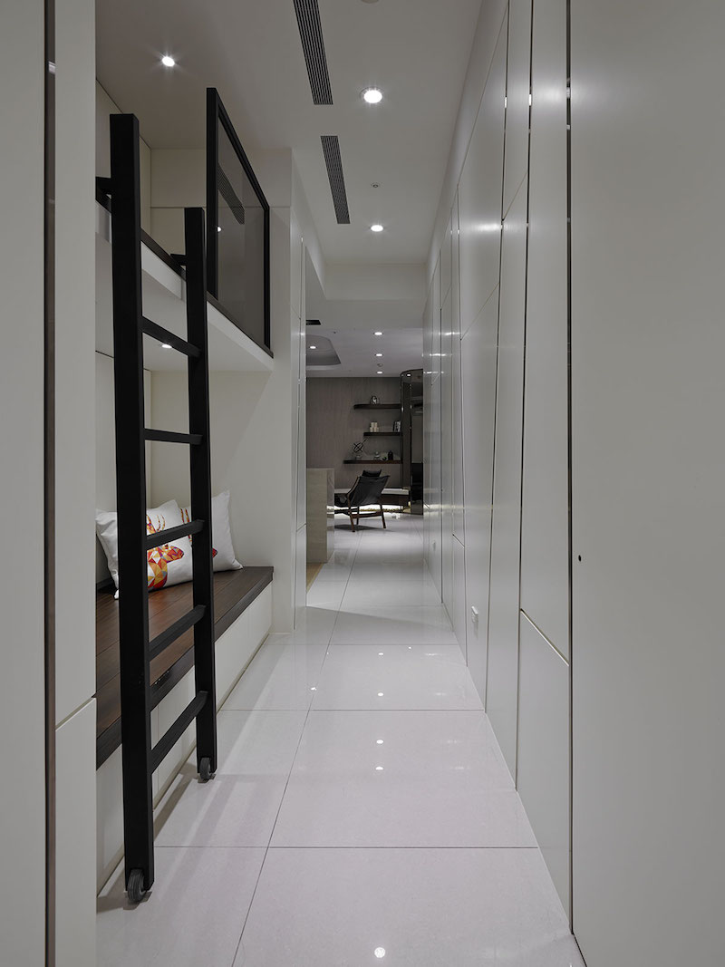 Contemporary Taiwan Apartment Showing Luxury And