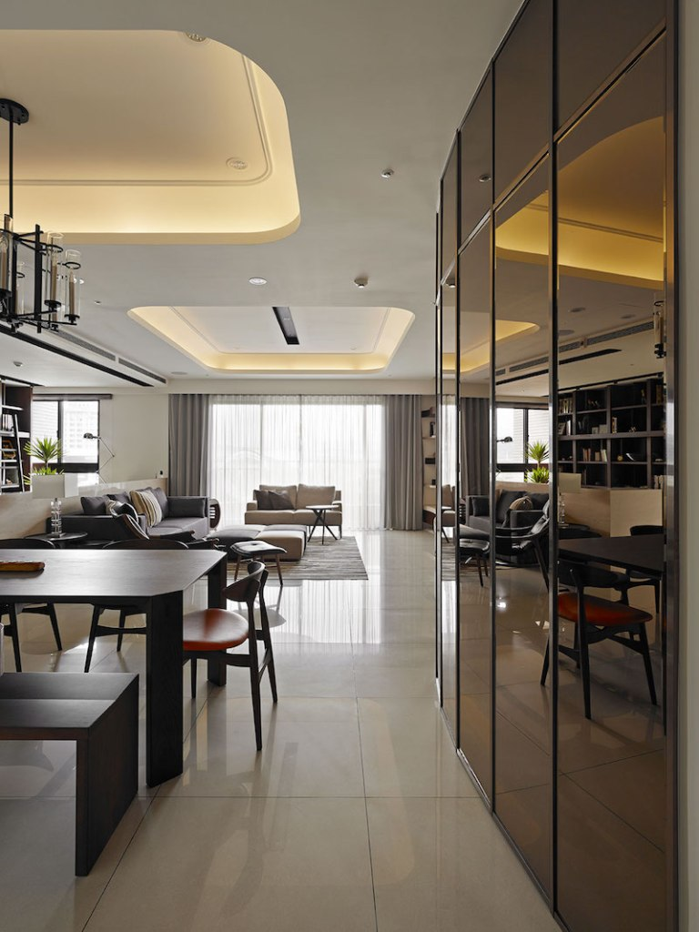Contemporary Taiwan Apartment Showing Luxury And Simplicity In Interior Desig