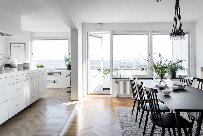 Bright Scandinavian Interior Design Showing The Force Of White
