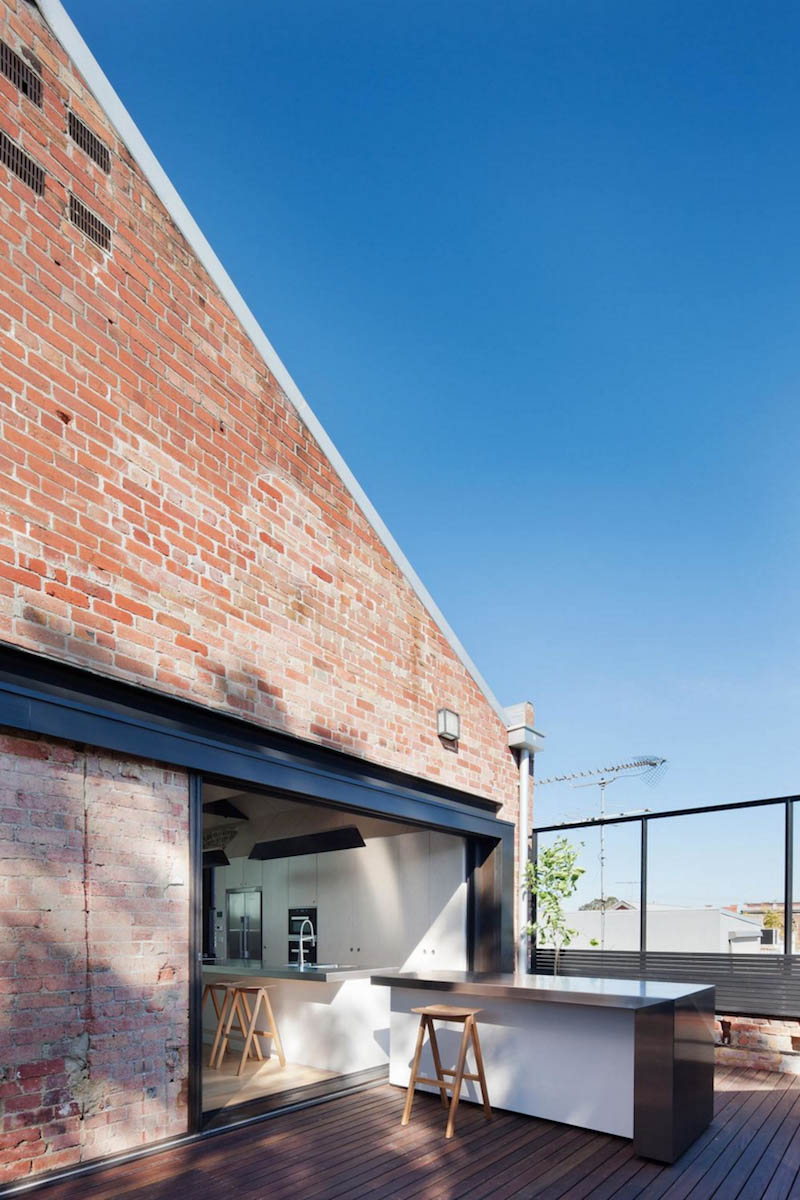 Industrial Warehouse Building Conversion By Andrew Simpson Architects