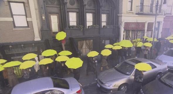 Risultati immagini per how i met your mother ombrello giallo