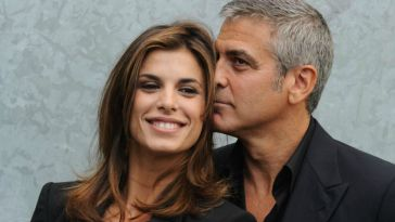George Clooney racconta un retroscena su Elisabetta Canalis: «Non sapete cosa mi faceva»