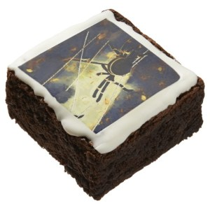 halloween spider brownie