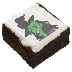 halloween brownies