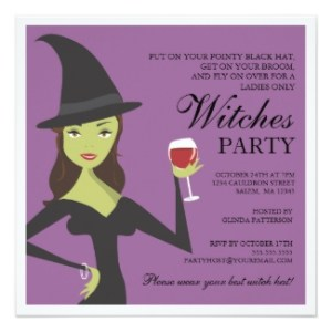 witch party invitation