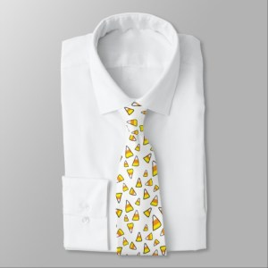 candy corn necktie