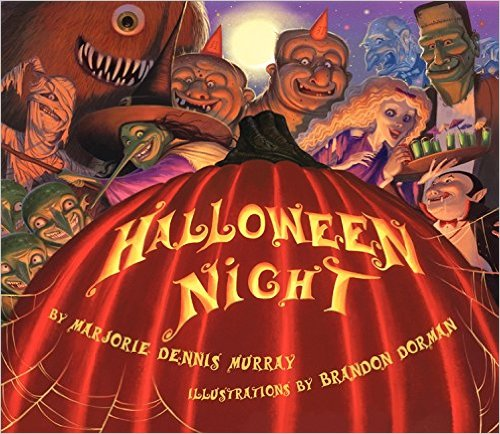 halloween night picture book