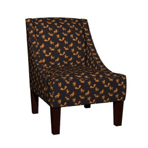 halloween pattern arm chair